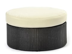 - Ottoman with synthetic fiber weaving ARENA | Pouf - Varaschin