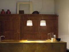 - Blown glass pendant lamp CLOTH SP D2 - Vetreria Vistosi