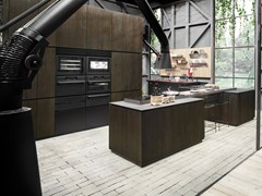 - Wooden kitchen with island NATURAL SKIN | Kitchen with island - Minacciolo