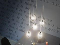 - Glass chandelier DAMASCO SP 5 P - Vetreria Vistosi