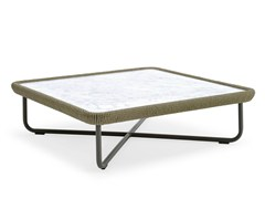 - Coffee table with marble top BABYLON   Coffee table - Varaschin