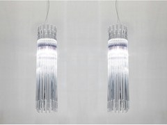 - Glass pendant lamp DIADEMA SP D2 - Vetreria Vistosi