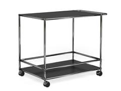 - Metal Trolley USM HALLER CONFERENCE ROOM SERVING CART | Steel Trolley - USM Modular Furniture