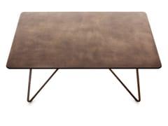 - Rectangular table with oxidized top BOAVISTA | Table - Varaschin