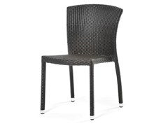 - Chair with synthetic fiber weaving CAFEPLAYA | Chair - Varaschin