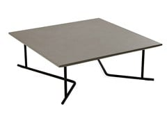 - Square HPL garden side table COLORADO | Square coffee table - Varaschin