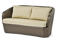 - Hand woven man-made fibre 2 seater sofa GARDENIA | 2 seater sofa - Varaschin