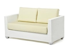 - 2 seater sofa with synthetic fiber weaving GIADA | 2 seater sofa - Varaschin