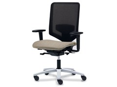 - Wire mesh task chair with 5-Spoke base JET.N - König + Neurath