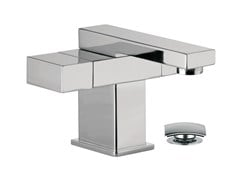 - Chrome-plated countertop 1 hole washbasin mixer TWIN | Miscelatore per lavabo - Daniel Rubinetterie