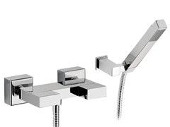 - Shower mixer with hand shower TWIN | Shower mixer with hand shower - Daniel Rubinetterie