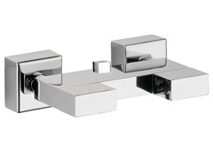 - Chrome-plated shower mixer TWIN | Shower mixer - Daniel Rubinetterie