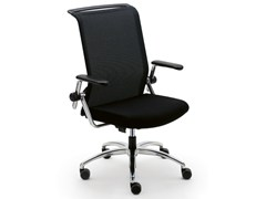 - Task chair with 5-Spoke base with casters KINETA | Task chair with armrests - König + Neurath