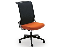 - Swivel task chair with 5-Spoke base KINETA | Task chair with casters - König + Neurath