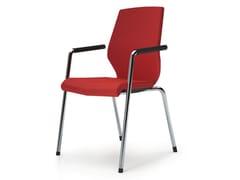 - Reception chair with armrests JET II | Reception chair - König + Neurath