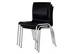 - Stackable reception chair JUVENTA - König + Neurath