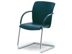 - Reception chair with armrests OKAY - König + Neurath