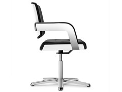 - Task chair with 5-Spoke base with armrests CHARTA | Task chair - König + Neurath
