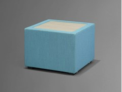 - Storage upholstered pouf NET.WORK.PLACE | Storage pouf - König + Neurath
