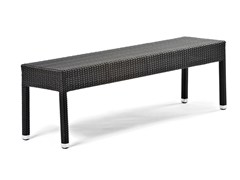 - Bench with synthetic fiber weaving LOTUS | Bench - Varaschin