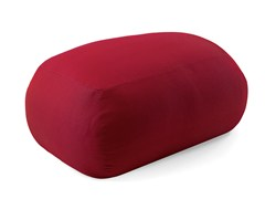 - Upholstered fabric garden pouf PEBBLE | Garden pouf - Varaschin