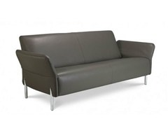 - 3 seater leather sofa CHINOOK | Leather sofa - Jori