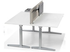 - Fabric workstation screen desktop partition INSIDE 25 | Workstation screen desktop partition - König + Neurath