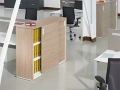 - Wooden office storage unit horizontal ACTA PLUS - König + Neurath