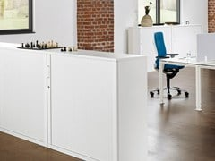 - Metal office storage unit with hinged doors ACTA CLASSIC | Office storage unit with hinged doors - König + Neurath