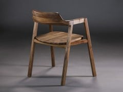 - Wooden chair with armrests BURA | Chair - Artisan