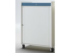 - Office storage unit with hinged doors with lock ACTA MOBIL PLUS - König + Neurath