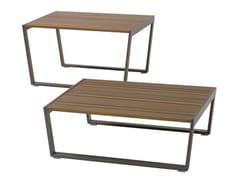 - Rectangular Ecolignus® garden side table CALMA | Ecolignus® coffee table - Andreu World