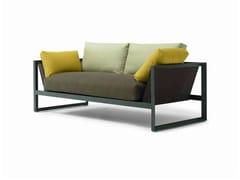 - 2 seater garden sofa SAND | 2 seater sofa - Andreu World