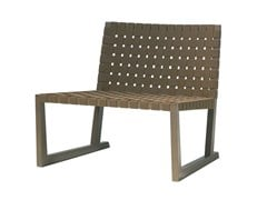 - Sled base Ecolignus® easy chair SERENA | Easy chair - Andreu World