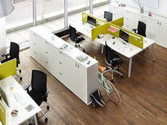 - Multiple office workstation DO IT.4 | Office workstation - König + Neurath