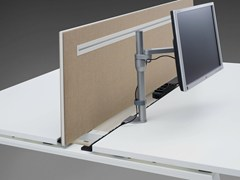 - Workstation screen desktop partition DO IT.4 | Workstation screen - König + Neurath