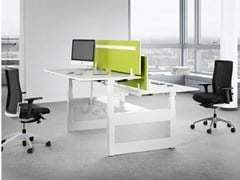 - Multiple office workstation TALO.S - König + Neurath