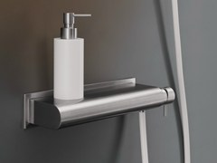 - Wall mounted external mixer set with hand shower MIL 95 - Ceadesign S.r.l. s.u.