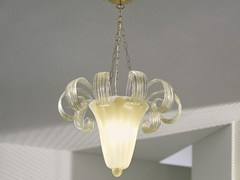 - Glass pendant lamp GLORIA SP 9F - Vetreria Vistosi