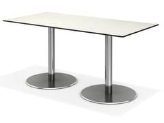 - Rectangular contract table CENTRE | Rectangular table - Casala