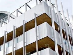 Pannello in legno per facciate / Pannelli per controsoffittoWOOD SHADE OUTDOOR - ITP