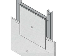 - Fireproof inspection chamber for partition walls AKIFIRE WALL 120 - EI120 - ITP