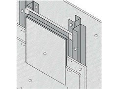 - Fireproof inspection chamber for partition walls AKIFIRE WALL 180 - EI180 - ITP