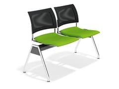 - Fabric beam seating FENIKS TRAVERSE | Beam seating - Casala