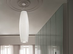 - Glass pendant lamp MUMBA SP 2 - Vetreria Vistosi