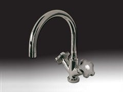- Countertop 1 hole kitchen tap GIO' CRYSTAL | Countertop kitchen tap - Giulini G. Rubinetteria