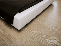 - Floating prefinished brushed wooden parquet ROVERE DECAPÉ | Oak parquet - CADORIN GROUP