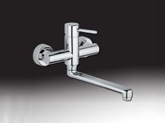 - 2 hole wall-mounted kitchen mixer tap FUTURO | Wall-mounted kitchen mixer tap - Giulini G. Rubinetteria