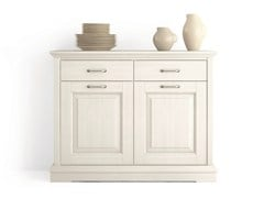 - Wooden sideboard with doors with drawers ARIETTE | Sideboard with drawers - Scandola Mobili