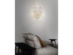 - Crystal wall lamp RIALTO AP 7F - Vetreria Vistosi